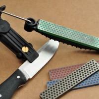 Типы лезвий ножей, заточка.