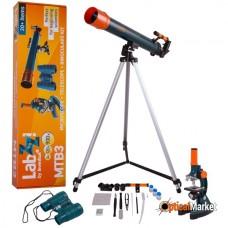 Набір Levenhuk LabZZ МТВ3: мікроскоп, телескоп і бінокль