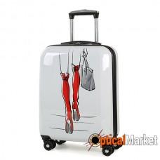 Чемодан Rock MIRO Red Boots (S)
