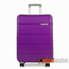Чемодан Rock Meteor (S) Purple/Grey