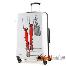 Чемодан Rock MIRO Red Boots (L)