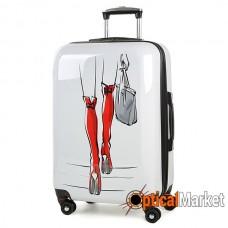 Чемодан Rock MIRO Red Boots (M)