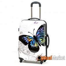 Чемодан Rock MIRO Butterfly (M)