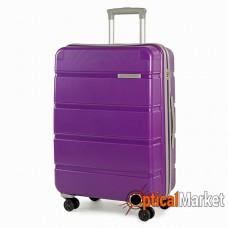 Чемодан Rock Meteor (M) Purple/Grey