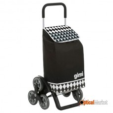 Сумка-візок Gimi Tris 56 Optical Black