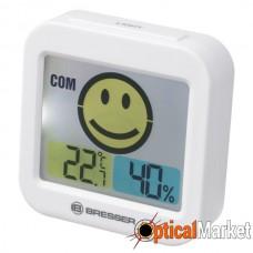 Термометр-гігрометр Bresser Temeo Smile White (7007450GYE000)