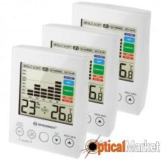 Термометр-гігрометр Bresser MA With Mould Alert White (3 шт) (7007412)