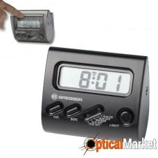 Часы настольные Bresser Yo-Yo Black (8010090CM3000)