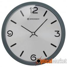 Часы настенные Bresser MyTime Silver Edition Digit Grey (8020316MSN000)