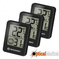 Термометр-гігрометр Bresser Temeo Hygro Indicator (3шт) Black (7000010CM3000)