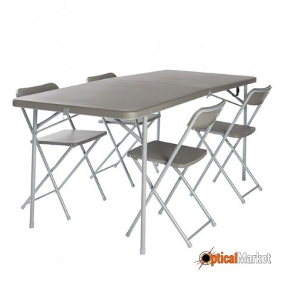 Стол Vango Orchard XL Table And Chair Set Grey