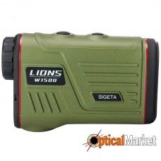 Лазерний далекомір Sigeta Lions W1500S