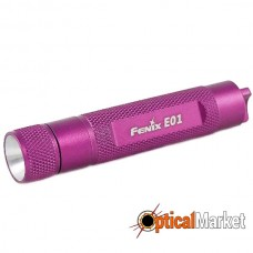 Фонарь Fenix E01 Nichia white GS LED розовый