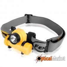 Налобный фонарь Fenix HL21 желтый Cree XP-E LED R2