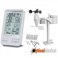 Метеостанція Bresser Weather Center 5-in-1 (White)