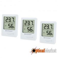 Термометр-гигрометр Bresser Temeo Hygro Indicator White (3шт.)