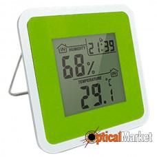 Термометр-гигрометр цифровой Т-07 Green