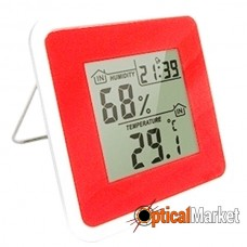 Термометр-гигрометр цифровой Т-07 Red