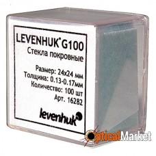 Набор покровных стекол Levenhuk G100 (100шт.)