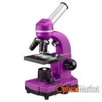 Мікроскоп Bresser Biolux SEL 40x-1600x Purple (смартфон-адаптер)
