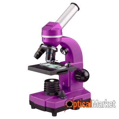 Микроскоп Bresser Biolux SEL 40x-1600x Purple (смартфон-адаптер)