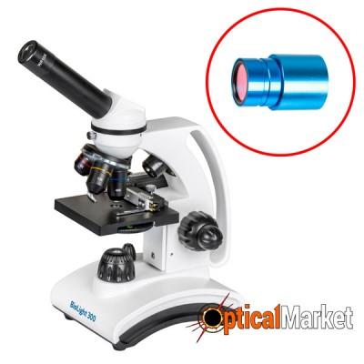 Микроскоп Delta Optical BioLight 300 с камерой Delta Optical DLT-Cam Basic 2MP