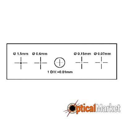Объект-микрометр Sigeta X&Y 1мм/100 Div.x0.01мм
