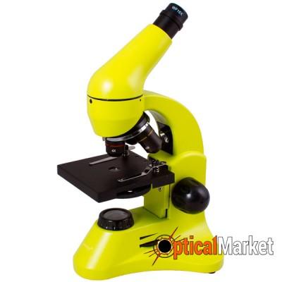 Микроскоп Levenhuk Rainbow 50L Plus Lime