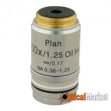 Объектив Delta Optical Plan IOS 100x с ирисовой диафрагмой