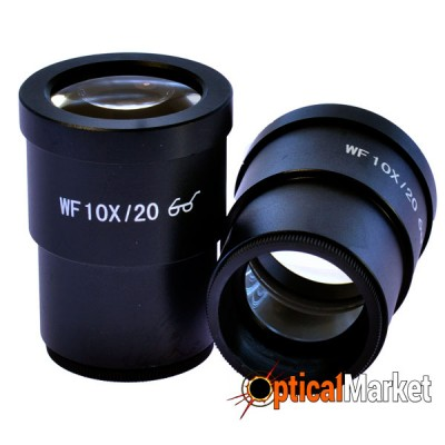 Окуляры Ningbo WF10x микрометрические, пара