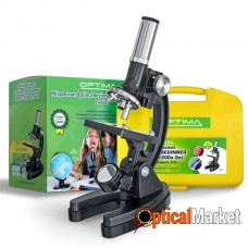 Микроскоп Optima Beginner 300x-1200x подарочный набор