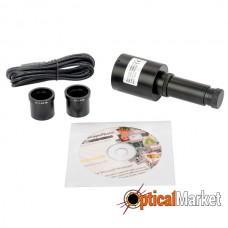 Цифрова камера Sigeta MDC-140BW CCD (чорно-біла) для мікроскопа