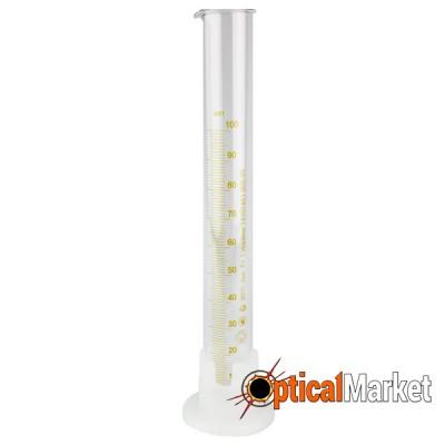 Циліндр мірний з носиком на пластмасовій основі 3-250-2