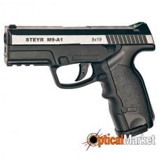 Пистолет пневматический ASG Steyr M9-A1 с никелевой вставкой