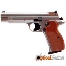 Пистолет пневматический SAS P210 Silver BlowBack