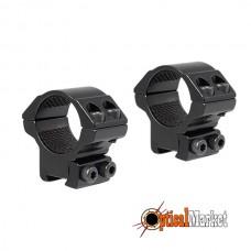 "Кольца для прицела Hawke Matchmount #HM6102 9-11mm / 2pc / 1"" Low"