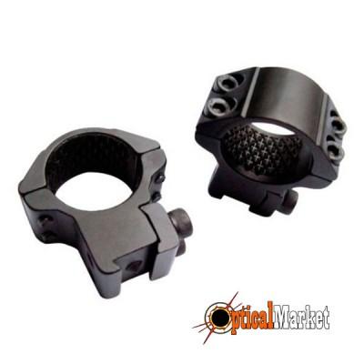 """Кольца для прицела Hawke Matchmount #HM6104 1""""/9-11mm/Med"""