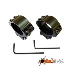 Кольца для прицела Hawke Matchmount #HM6160 30mm/9-11mm/Med