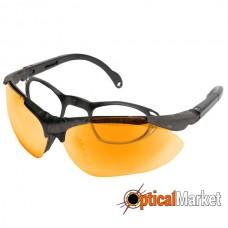 Стрелковые очки Konus Shooting-3 оранжевые