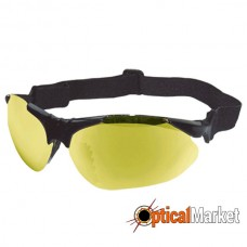 Стрелковые очки Konus Shooting-3 желтые