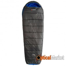 Спальный мешок Caribee Nordic Compact 1300 (0°C) Graphite/Blue (Left)