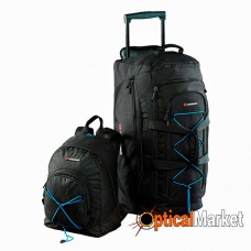 Сумка дорожня Caribee Sports Tourer Combo 65+26 Black (комплект)