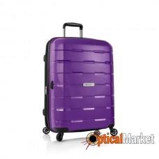 Чемодан Heys Zeus (M) Purple