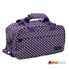 Сумка дорожня Members Essential On-Board Travel Bag 12.5 Purple Polka