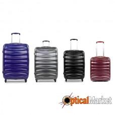 Комплект чемоданов Members Exo-Lite (S/M/L/XL) Navy 4шт