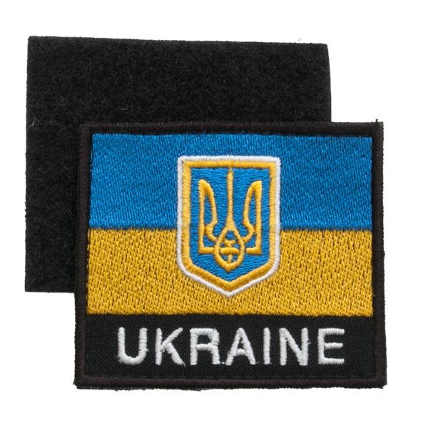 Флаг Украины - патч на липучке