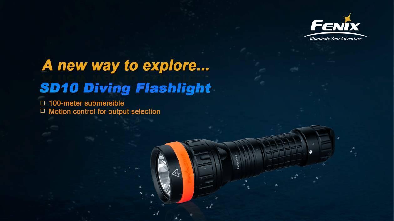 подводный фонарь fenix