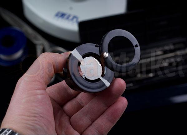Самодельный темнопольный конденсор