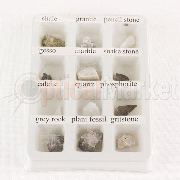 Набор минералов для микроскопа