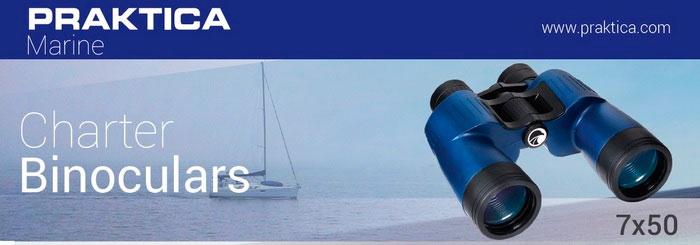 Бинокль Praktica Marine Charter 7x50 Blue